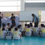 リオペードラ加賀 サッカー PNFCトレーニング③ ダンス ムービングステップ